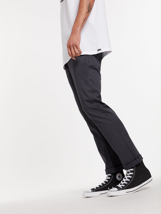 Frickin Modern Stretch Chino Pants - Charcoal (A1131807_CHR) [38]