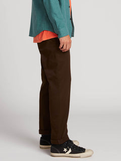Frickin Modern Stretch Chino Pants - Dark Chocolate