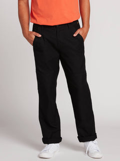 Nailer Canvas Pants - Black (A1131902_BLK) [1]