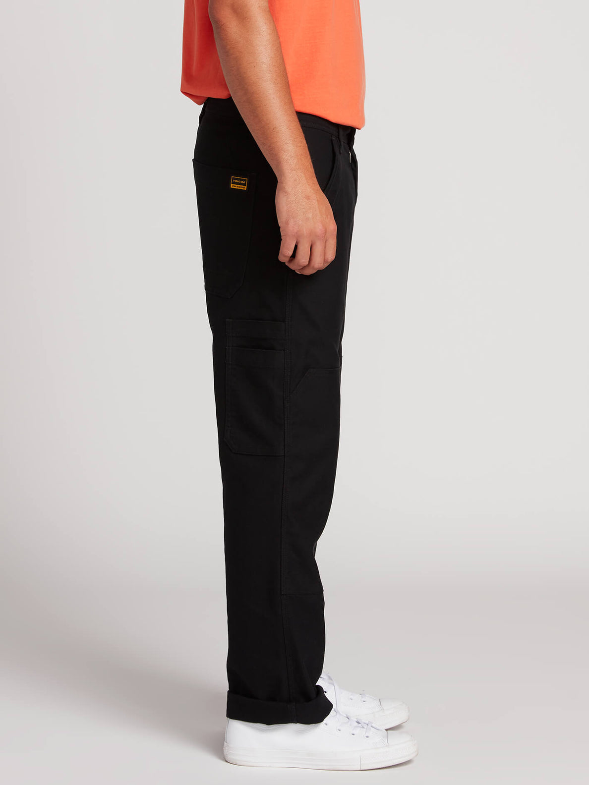 Nailer Canvas Pants - Black (A1131902_BLK) [3]