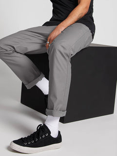 Riser Comfort Chino Pants - Aircraft Grey