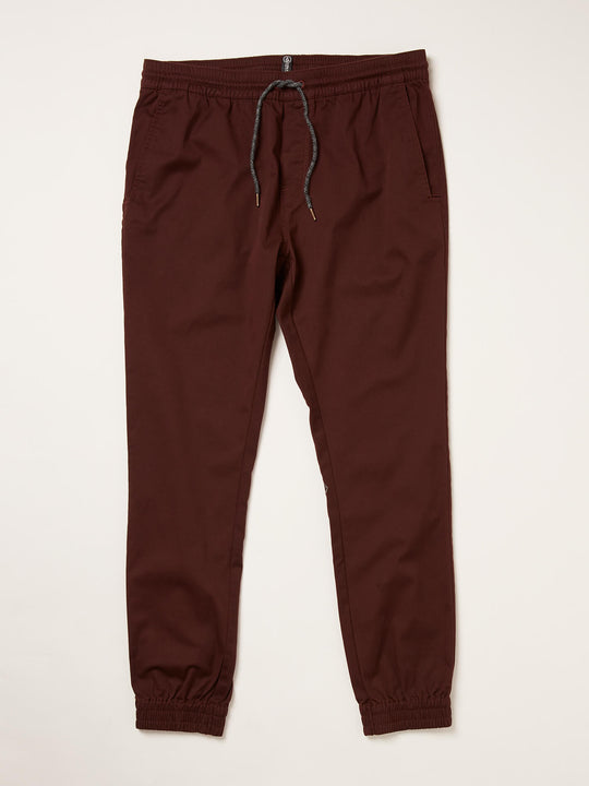 Frickin Slim Jogger Pants In Plum Heather, Third Alternate View