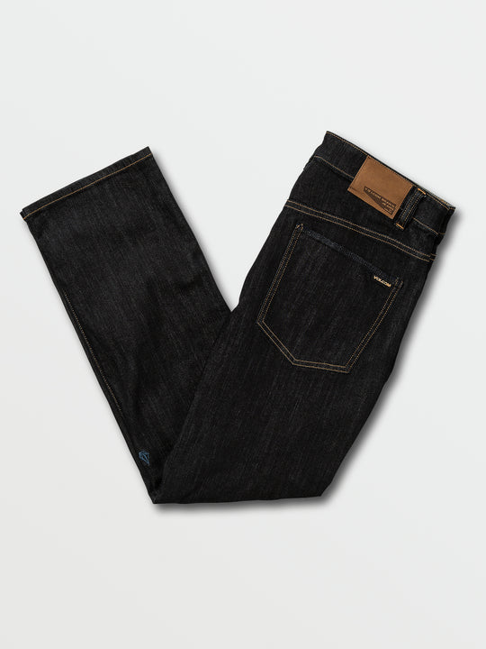 Solver Modern Fit Jeans In Rinse, Back View