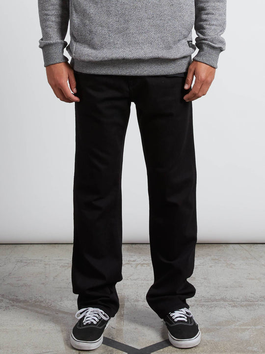 Kinkade Regular Fit Jeans - Black Out