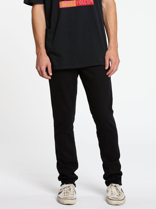 2X4 Skinny Fit Jeans - Black Out (A1931510_BKO) [1]