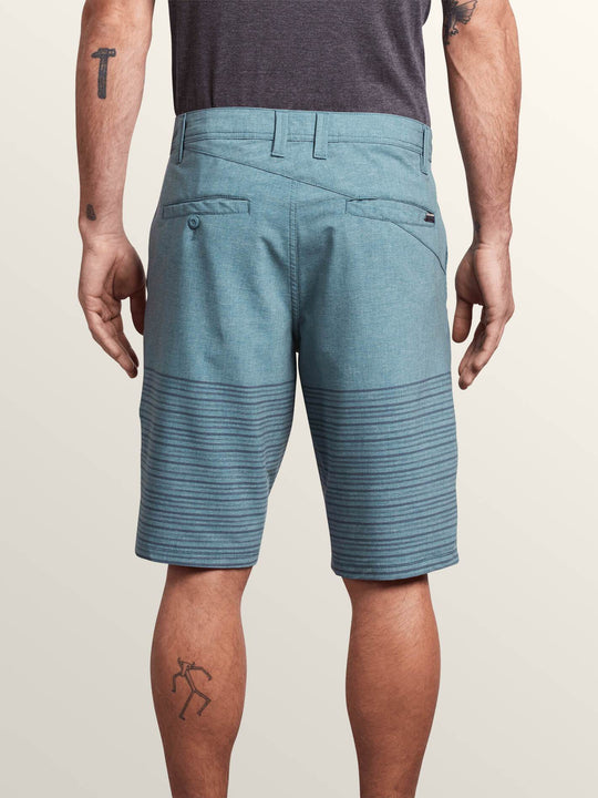 Frickin Surf N' Turf Mix Hybrid Shorts - Navy Green