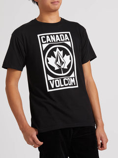 Canada Volcom Short Sleeve Tee - Black
