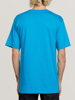 Crisp Stone Short Sleeve Tee - Bright Blue