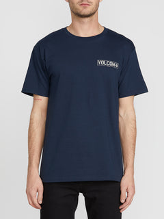 Lapse Short Sleeve Tee - Navy (A3541901_NVY) [F]