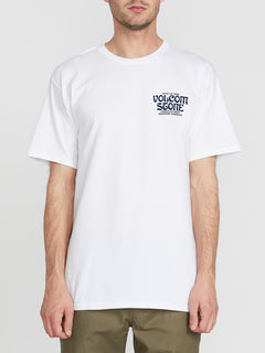 Newvo Oz Short Sleeve Tee - White (A3541905_WHT) [F]