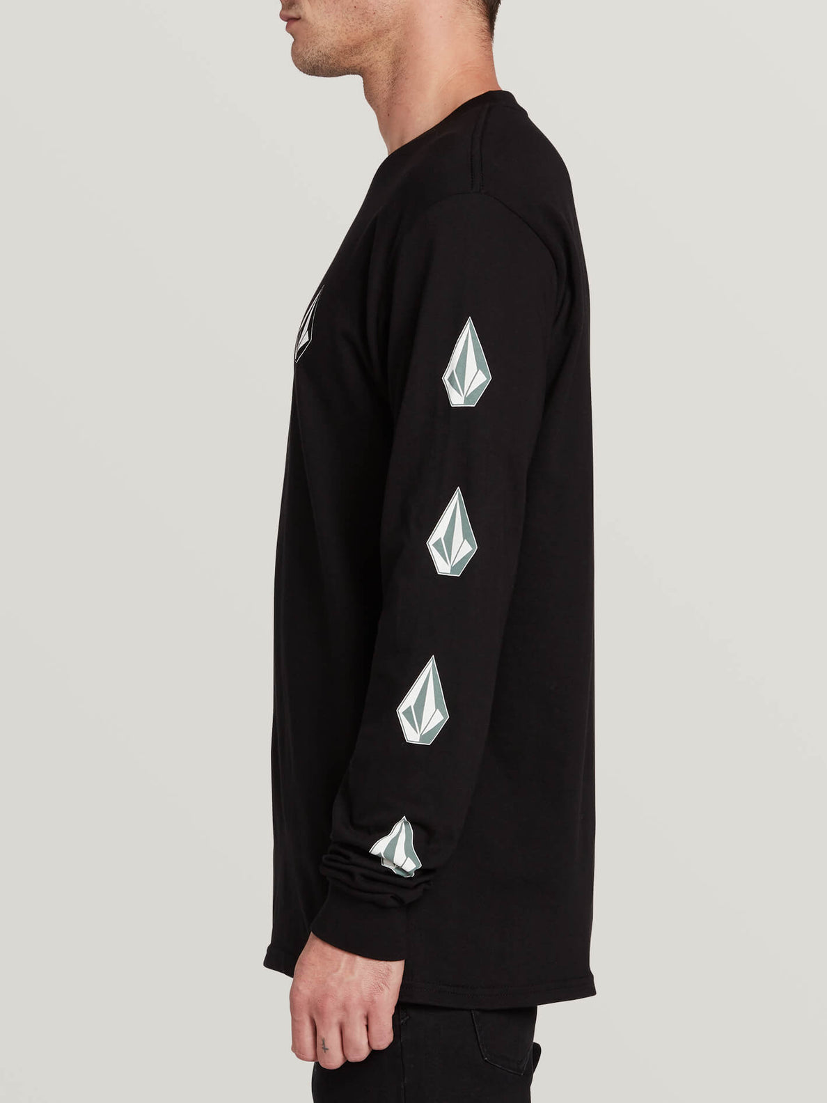 Deadly Stones Long Sleeve Tee (A3631702_BLC) [1]