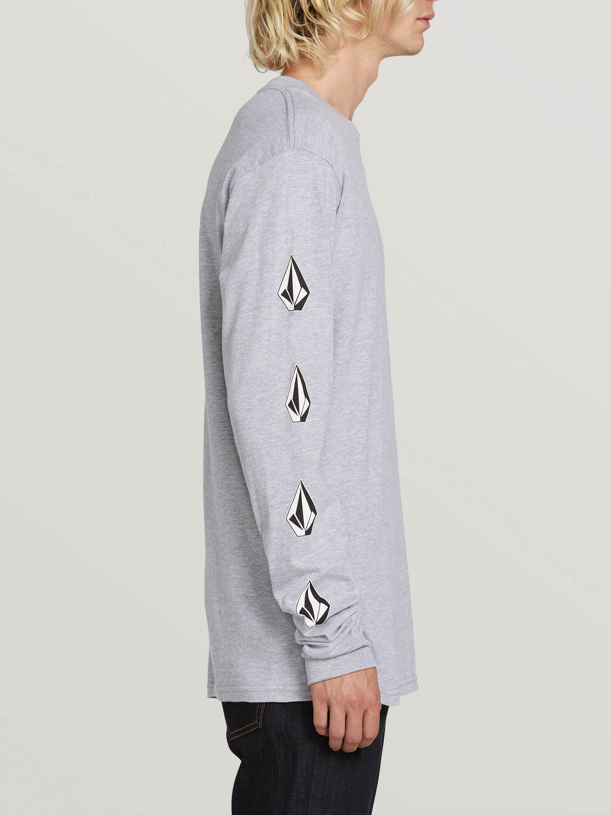 Deadly Stones Long Sleeve Tee - Grey (A3631702_GRY) [1]