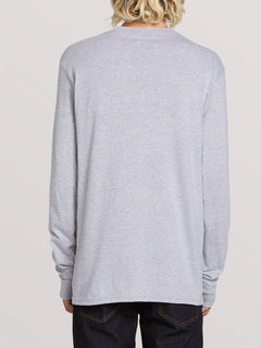 Deadly Stones Long Sleeve Tee - Grey (A3631702_GRY) [B]