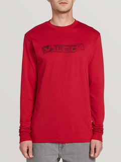Fooled Short Sleeve Tee - Engine Red (A3631900_ENR) [F]