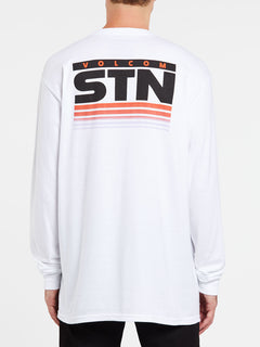 Bloxer Long Sleeve Tee - White