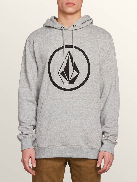 Stone Pullover Hoodie In Storm, Front View
