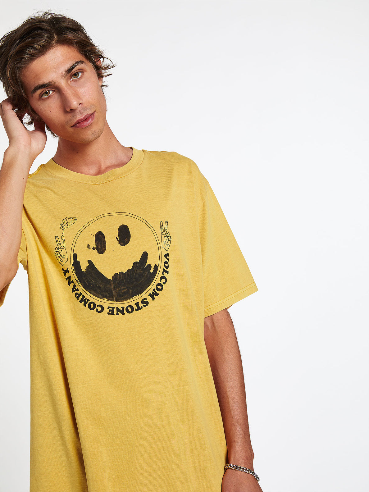 FAKE SMILE S/S TEE (A4312003_GLD) [23]