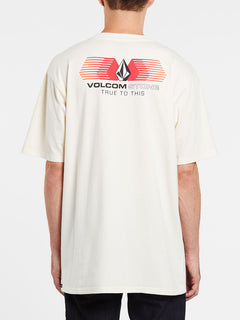 Voltrude Short Sleeve Tee - Off White (A4332000_OFW) [B]