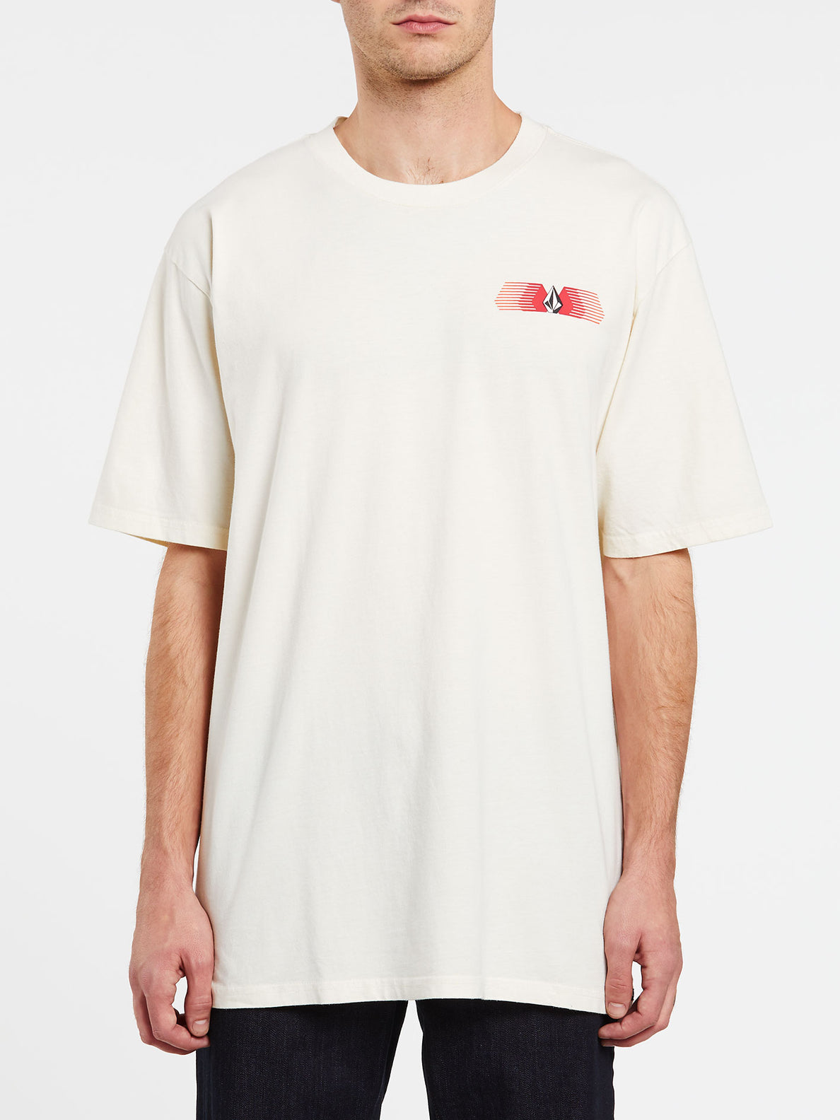 Voltrude Short Sleeve Tee - Off White (A4332000_OFW) [F]