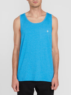 Solid Heather Tank - True Blue