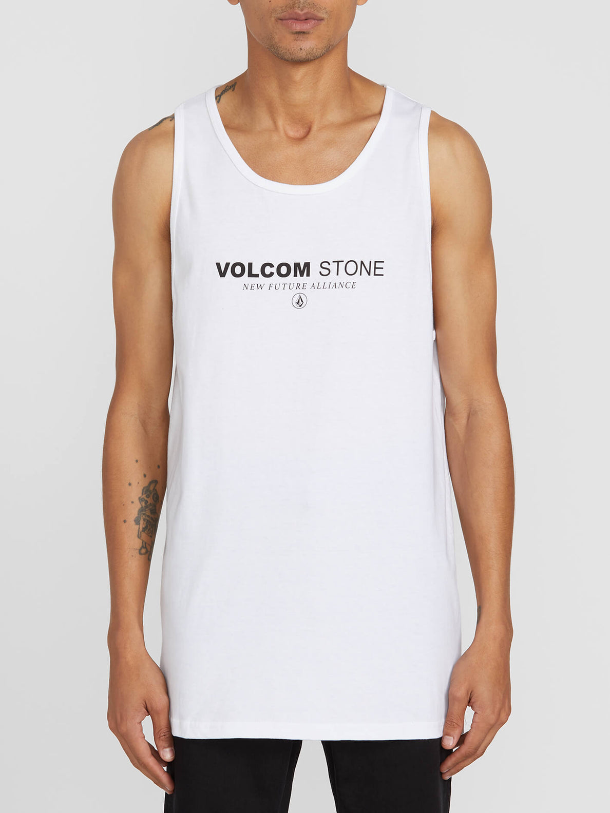 CLOCK WORKER TANK (A4512000_WHT) [F]