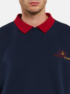 VOLOMETRICAL POLO - NAVY (A4632000_NVY) [2]