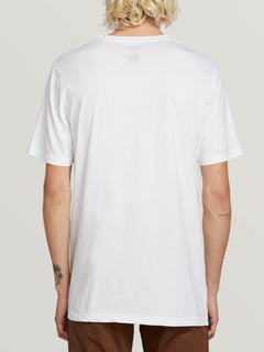 Stone Sounds Short Sleeve Tee - White