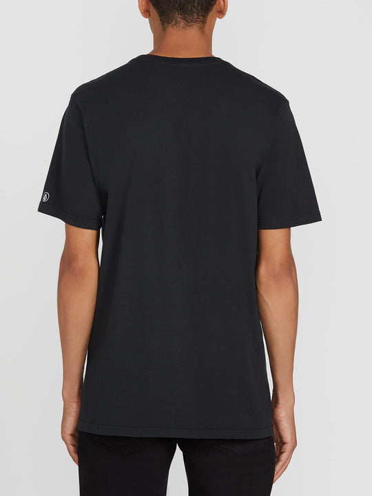Solid Short Sleeve Tee - Black (A5031807_BLK) [B]