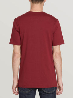 SOLID POCKET S/S TEE (A5031808_CAB) [B]