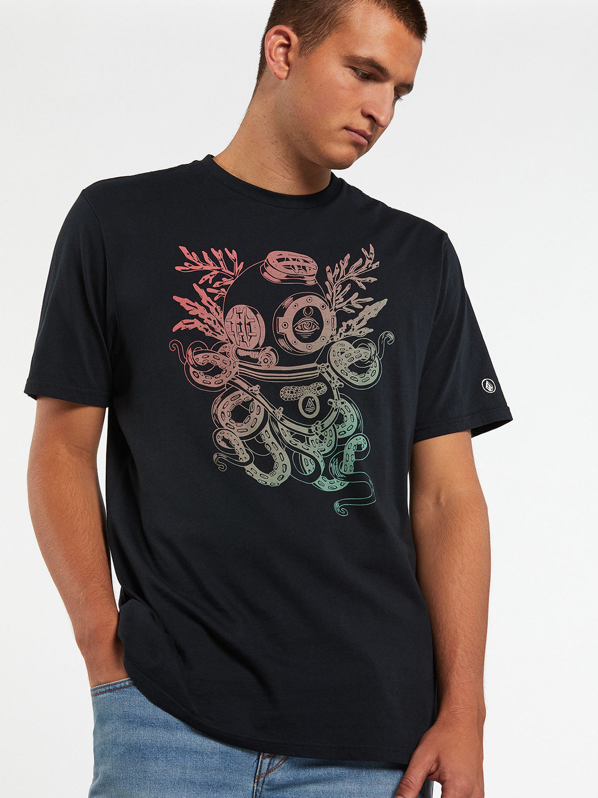 PangeaSeed Short Sleeve Tee - Black (A5032007_BLK) [2]