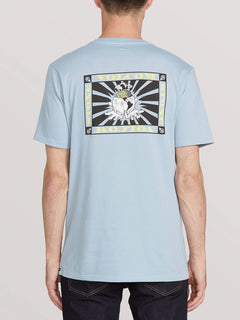 Deep Thoughts Short Sleeve Teeee - Slate Blue (A5041902_SLB) [B]