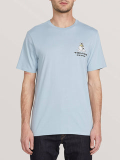 Deep Thoughts Short Sleeve Teeee - Slate Blue (A5041902_SLB) [F]