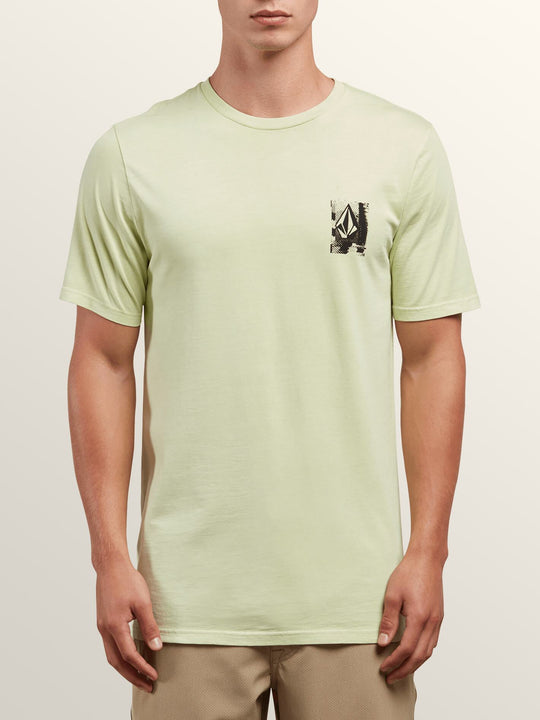 Lifer Short Sleeve Tee In Mist Green, Front View