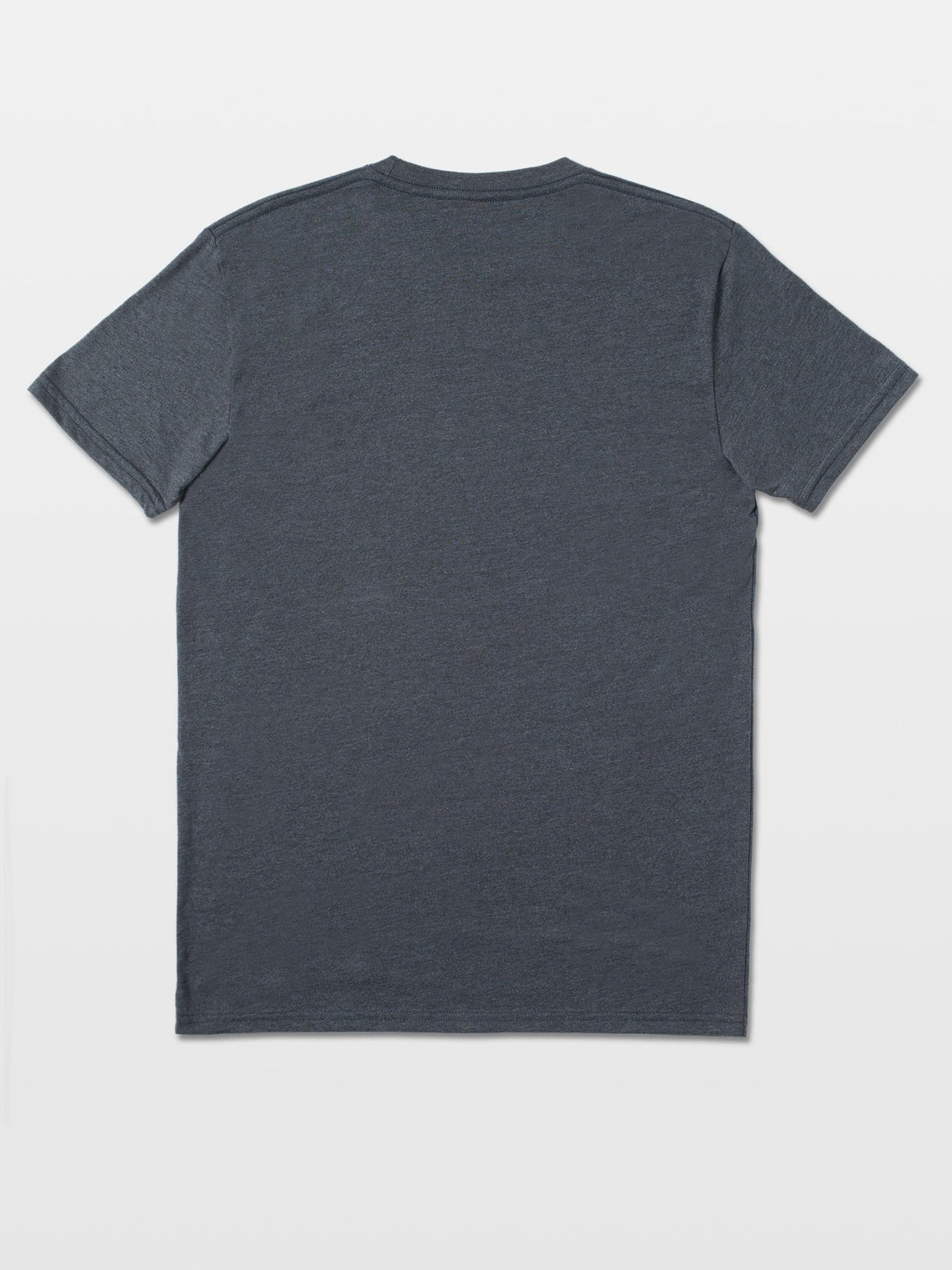 VIA STONE SHORT SLEEVE HEATHER TEE - HEATHER BLACK