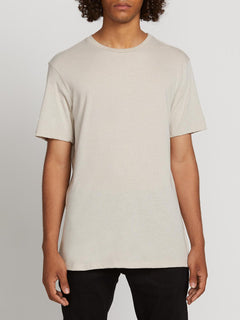 Heather Solid Short Sleeve Tee - Oatmeal