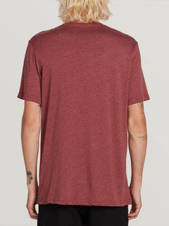 Hazy Short Sleeve Tee - Crimson (A5731905_CMS) [B]
