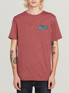 Glorious Beer Short Sleeve Teeee - Crimson (A5731908_CMS) [F]