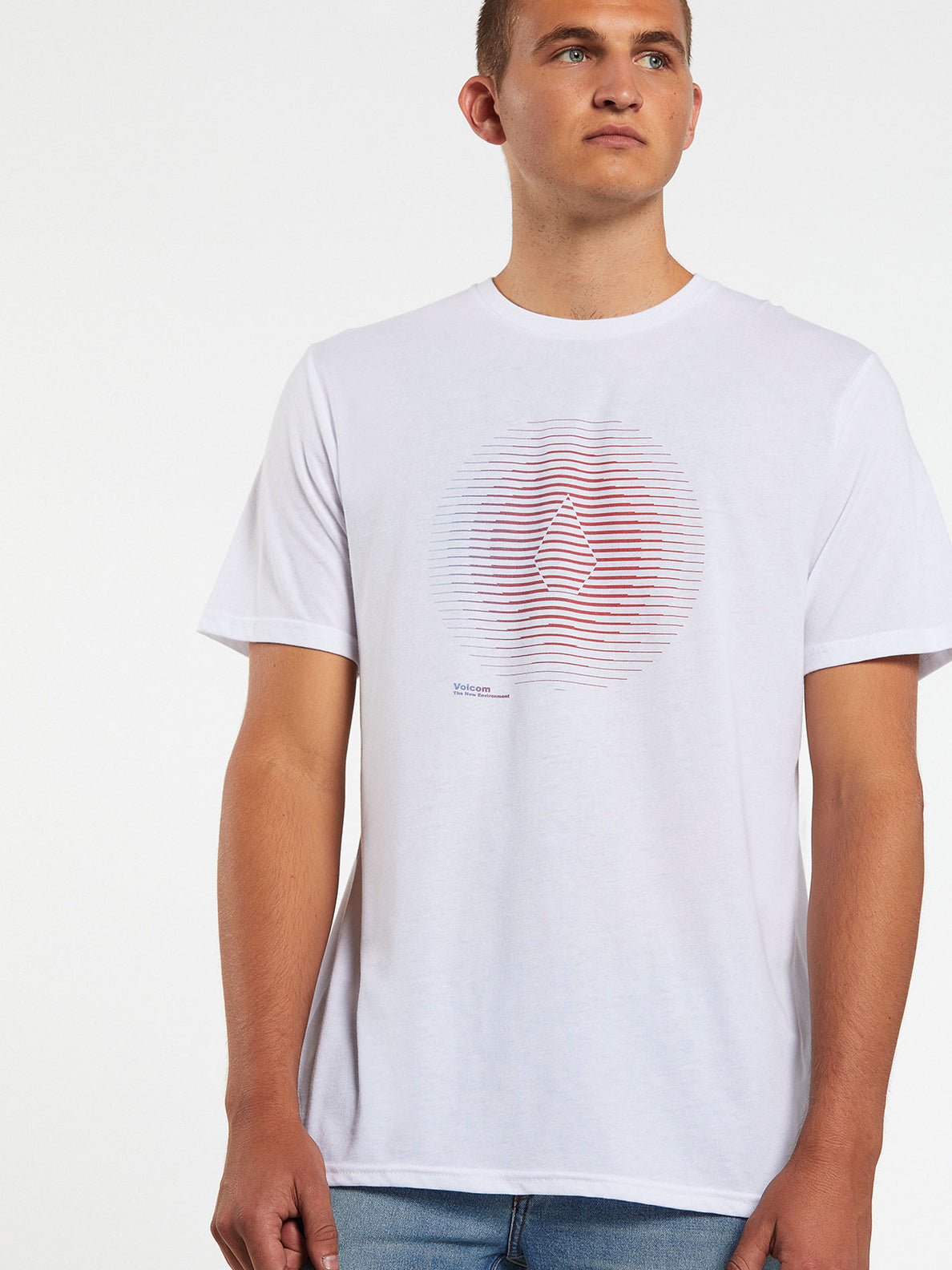 Trepid Short Sleeve Tee - White (A5732002_WHT) [2]