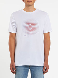 Trepid Short Sleeve Tee - White (A5732002_WHT) [F]