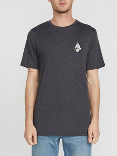 Tomb Short Sleeve Tee - Heather Black (A5741906_HBK) [F]