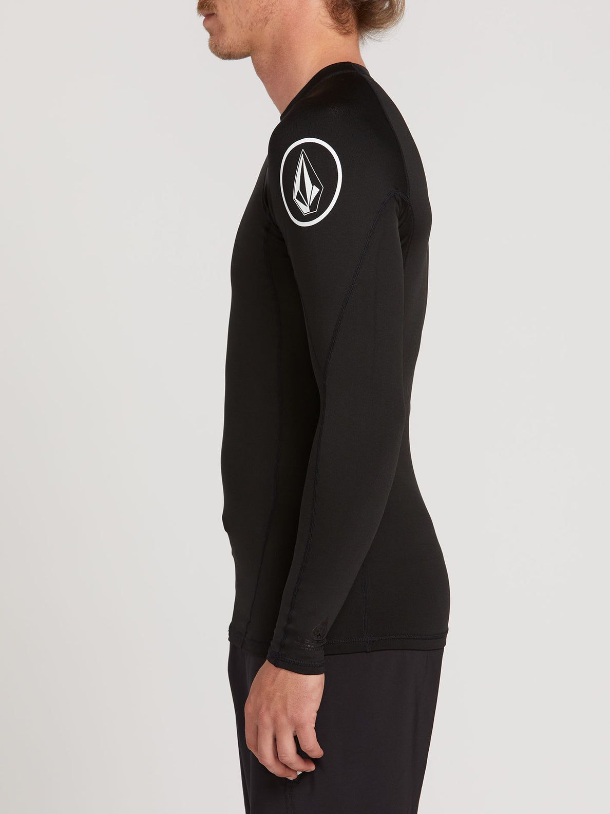 Hotainer Long Sleeve UPF 50 Rashguard - Black (A9312005_BLK) [1]