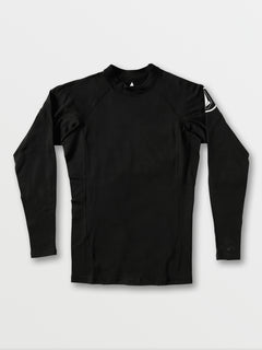 Hotainer Long Sleeve UPF 50 Rashguard - Black (A9312005_BLK) [F]