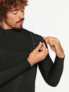 3/2MM CHEST ZIP FULLSUIT - BLACK (A9532000) [12]