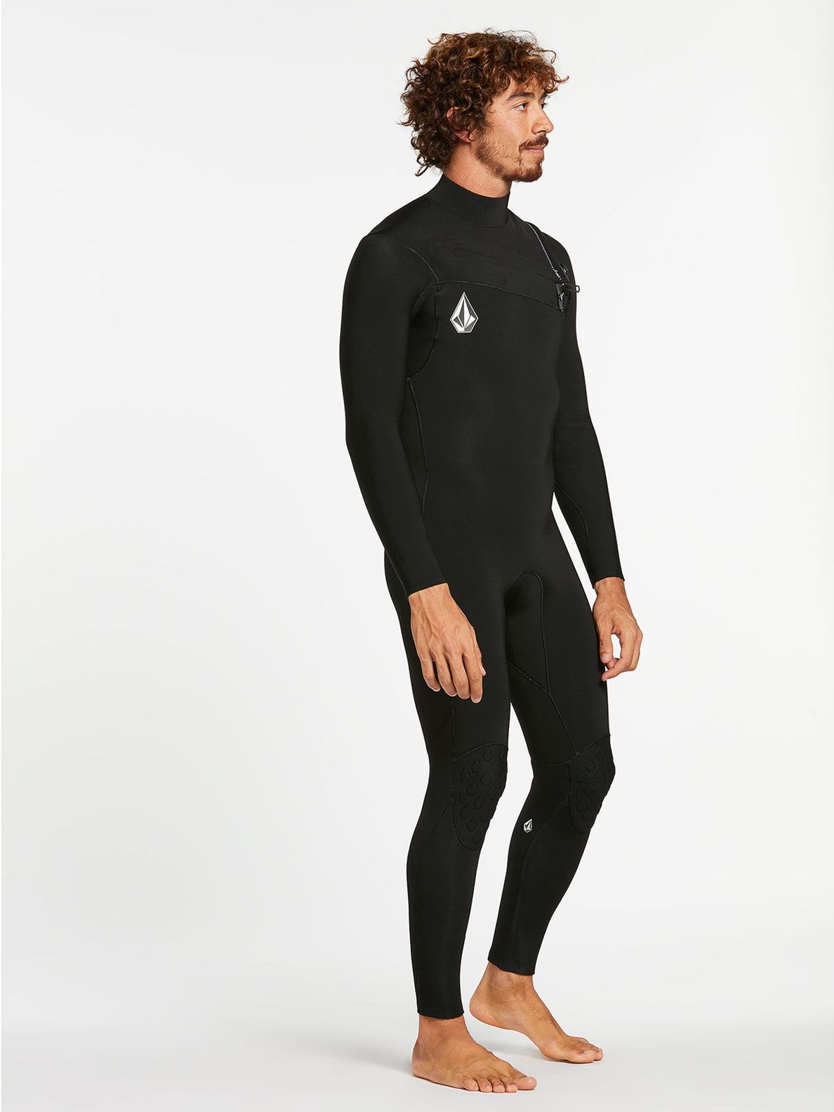 3/2MM CHEST ZIP FULLSUIT - BLACK (A9532000) [13]