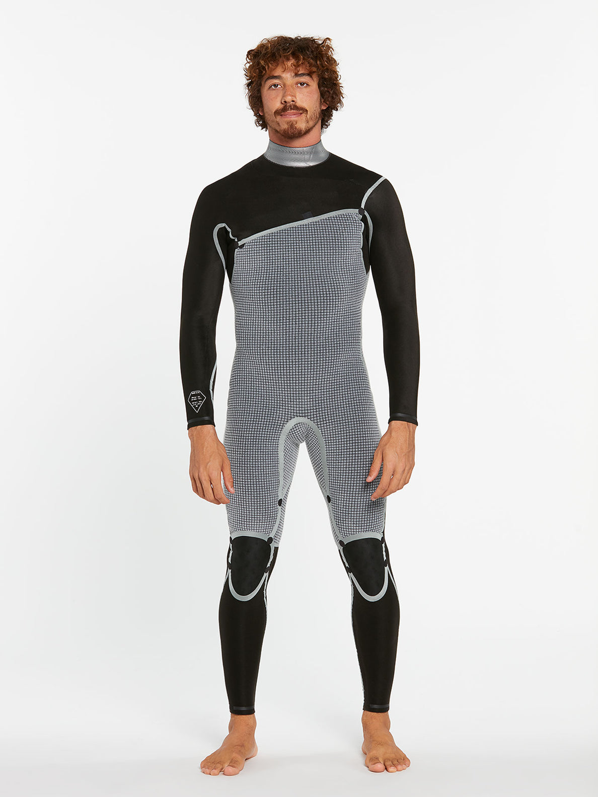 3/2MM CHEST ZIP FULLSUIT - BLACK (A9532000) [3]