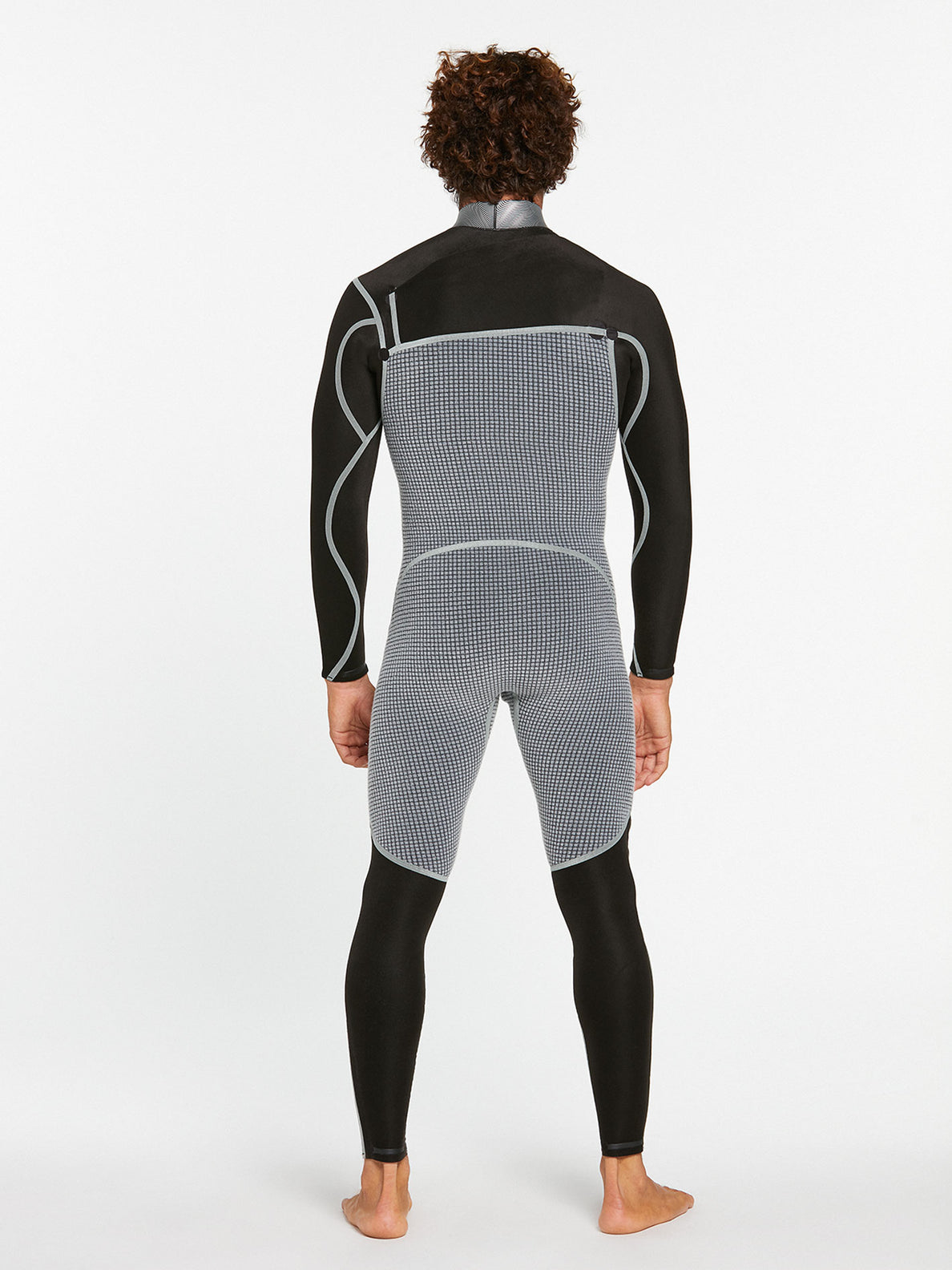 3/2MM CHEST ZIP FULLSUIT - BLACK (A9532000) [4]