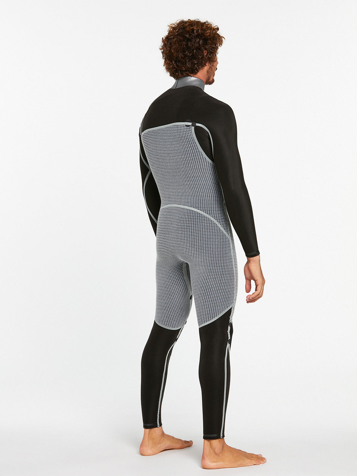 3/2MM CHEST ZIP FULLSUIT - BLACK (A9532000) [6]