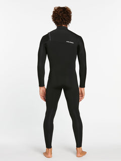 3/2MM CHEST ZIP FULLSUIT - BLACK (A9532000) [B]