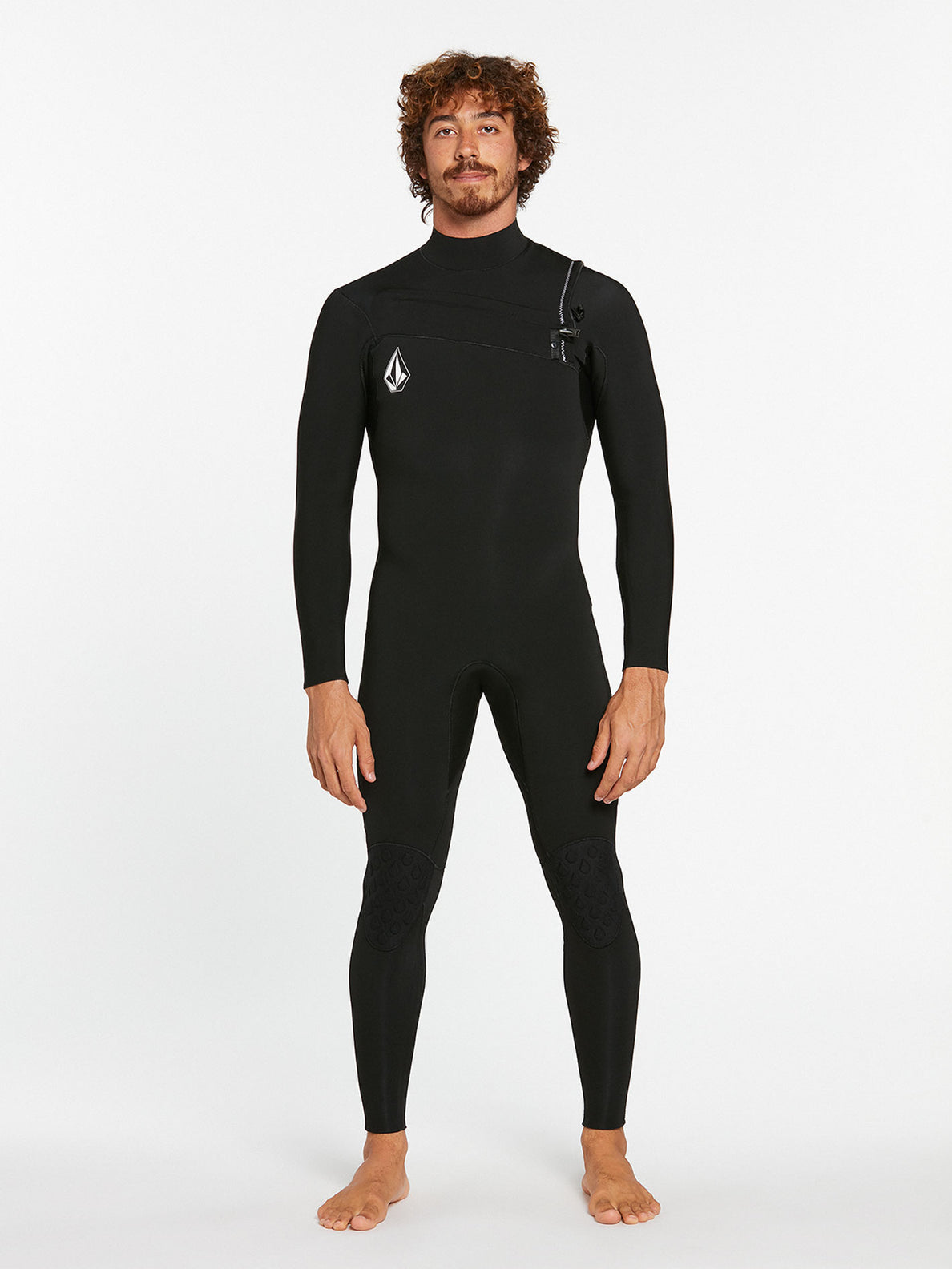 3/2MM CHEST ZIP FULLSUIT - BLACK (A9532000) [F]
