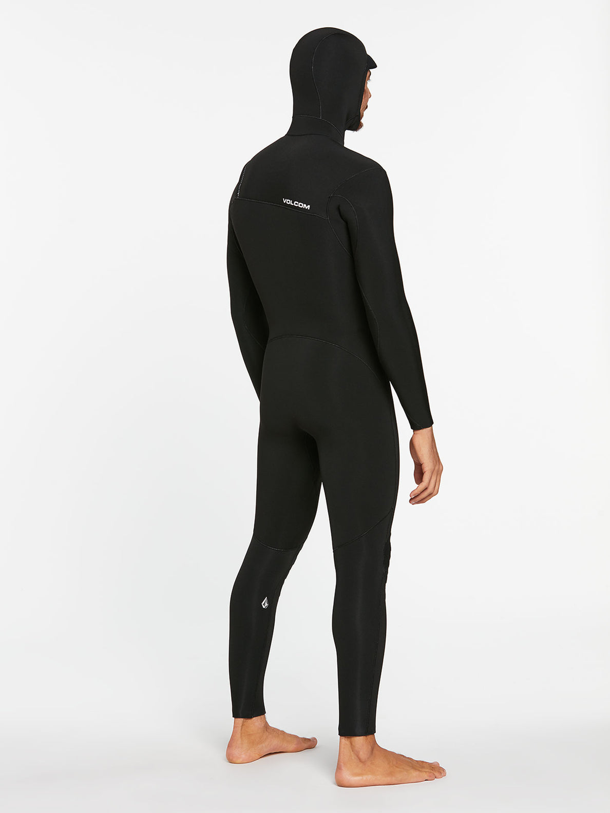 5/4/3MM HOOD CHESTZIP FULLSUIT - BLACK (A9532003) [2]